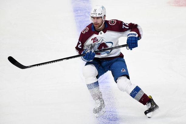 Joonas Donskoi pelasi kaksi edellistä kautta Colorado Avalanchessa. Nyt ura jatkuu Seattle Krakenissa.