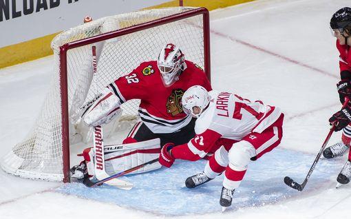 Kevin Lankinen jatkaa ilmiömäistä virettään NHL:ssä – ohittamaton suomalainen valittiin ykköstähdeksi