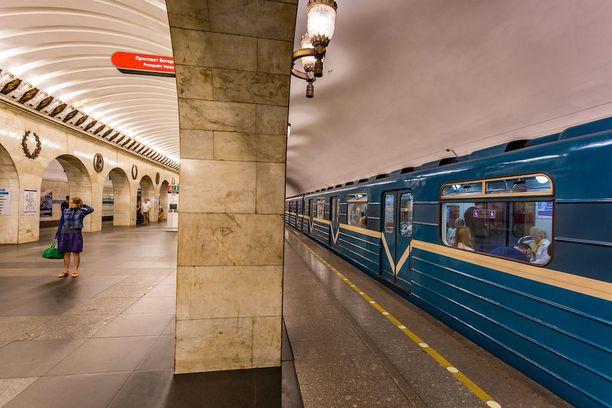 Pietariin metroon tehtiin tuhoisa terrori-isku huhtikuussa. Kuvituskuva.