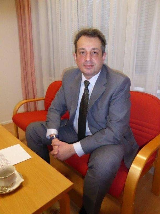 Ukrainan Suomen suurlähettiläs Andrii Olefirov.