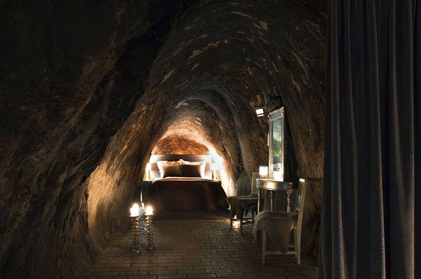 Ruotsissa voi majailla sviitissä, joka on 155 metriä maanpinnan alapuolella.