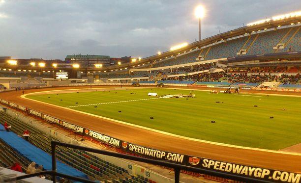 Turnauksen avajaisia vietettiin Göteborgin Ullevilla.