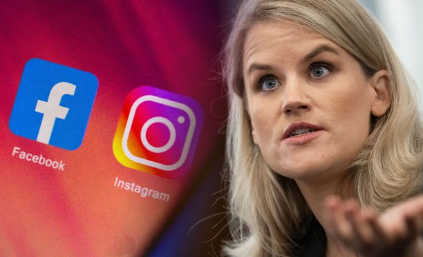 Entinen Facebookin työntekijä Frances Haugen oli senaatin kuultavana lokakuussa.