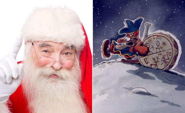 Jokainen haluaisi olla jouluna yhtä jalomielinen lahjojen jakaja kuin joulupukki. Jos et tykkää joulusta, saatat olla kuitenkin Joulupukin ja noitarummun ärhentelevä shamaani Vekara.