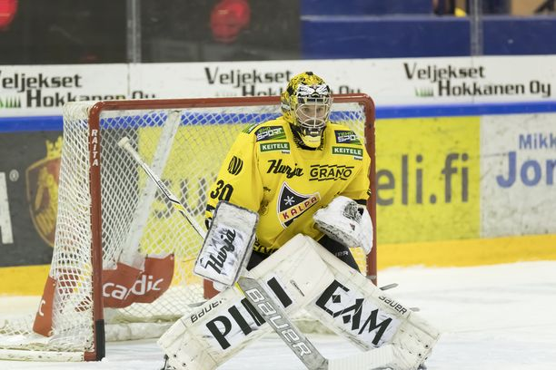 Denis Godla nollasi Lukon Kuopiossa.