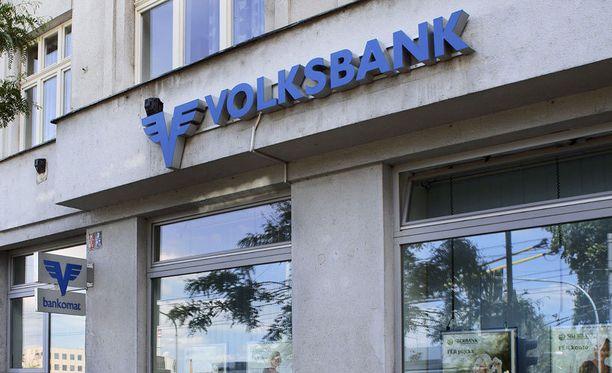 Huijausviestit naamioituivat muun muassa itävaltalaispankki Volksbankin sähköposteiksi.
