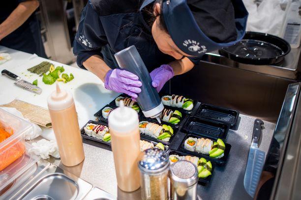 Triplan Prismassa toimii Eurooppalainen sushiketju Sushi Daily,