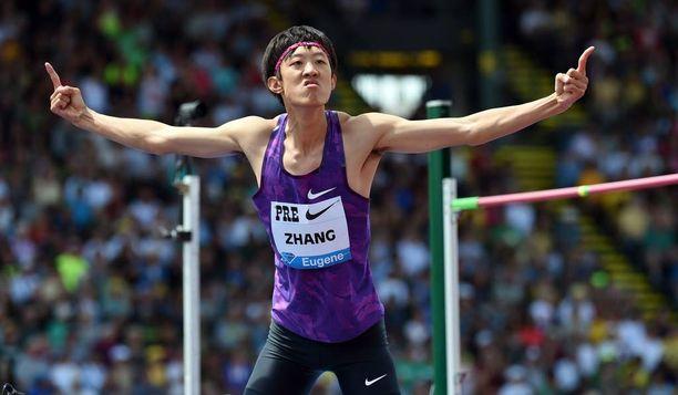 Guowei Zhang voitti Oslon Timanttiliigan korkeushypyn tuloksella 236.