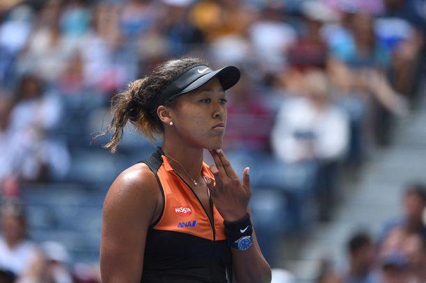 Naomi Osaka on tennismaailman supertähtiä.