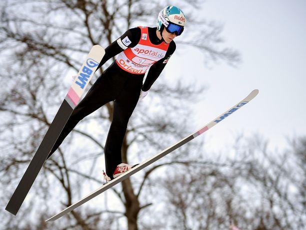 Antti Aalto oli Willingenin maailmancup-kilpailussa tutusti paras suomalainen.