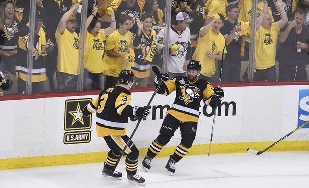 Pittsburgh Penguins voitti toisen perättäisen mestaruuden.