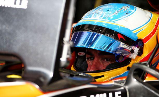 Fernando Alonson kausi on ollut täyttä tuskaa.