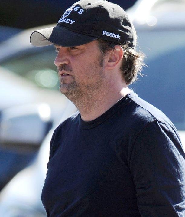 Sarkastisen Chandlerin roolissa nähty Matthew Perry, 45, ei ole Frendien jälkeen tehnyt kovinkaan näkyviä rooleja.