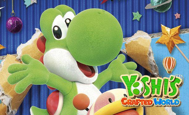 Yoshi on entistä söpömpi kankaisena.
