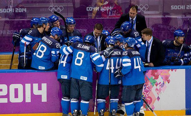 Leijonien vuoden 2014 olympiaturnaus päättyi pronssijuhliin.