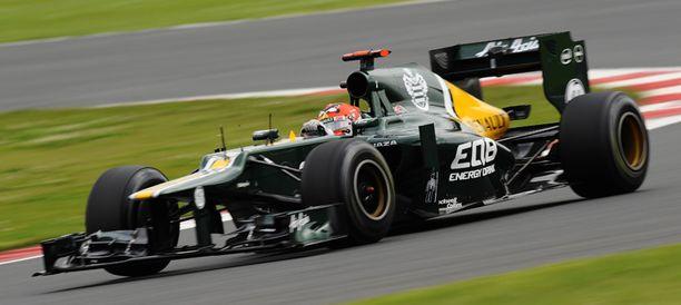 Heikki Kovalainen ajaa Saksassa uransa sadannen F1-osakilpailun.