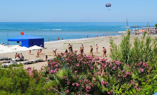 Turkin Alanya on suomalaistenkin suosima rantakohde.