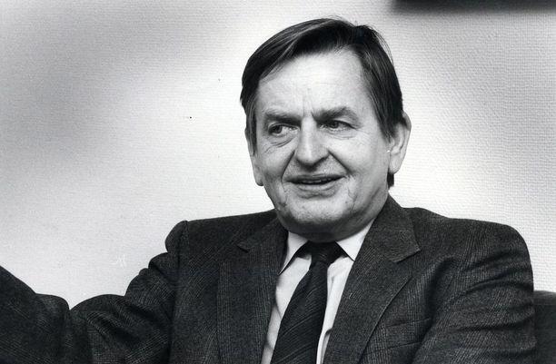 Pääministeri Olof Palme murhattiin Tukholman keskustassa 28.2.1986.