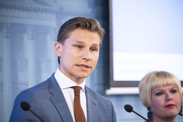 Antti Häkkäsestä tuli isä.