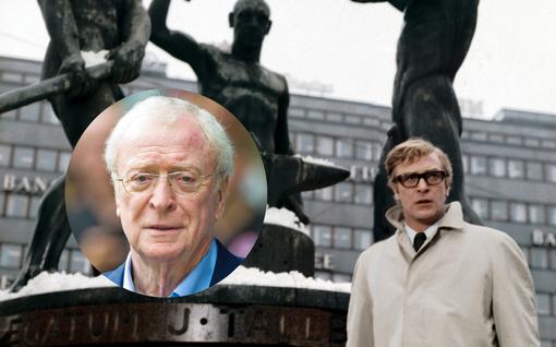 Brittitähti Michael Caine kuvasi elokuvan Suomessa: Katso nostalgiset kuvat 60-luvulta