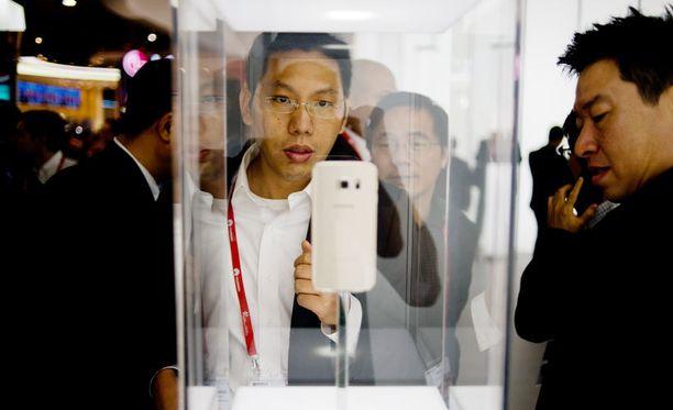 Samsung esitteli Galaxy S6:n ensimmäistä kertaa Barcelonassa maaliskuussa.