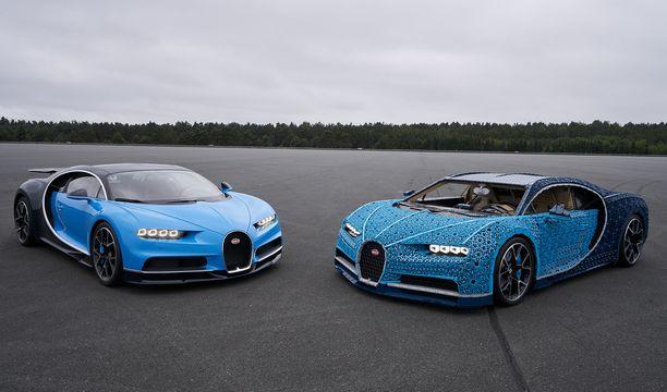 Kumpi on aito Bugatti?