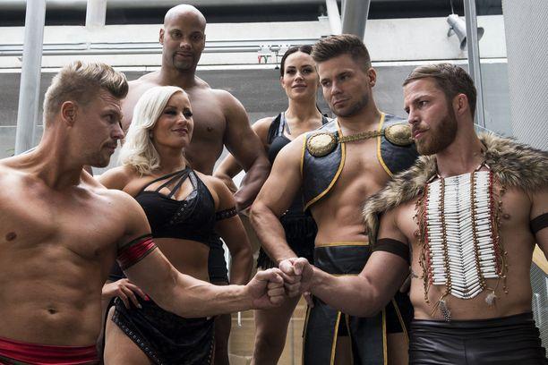 Gladiaattorit pärähtävät ruutuun ensi lauantaina.