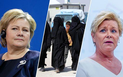 Norja ajautui hallituskriisiin al-Hol-kotiutusten vuoksi – kahden lapsen äiti tuodaan maahan vastoin aiempaa päätöstä