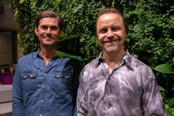 Tommi Korpela ja Jani Volanen ideoivat uutuusohjelman jo yhdeksän vuotta sitten.