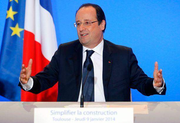 Francois Hollande on epäsuosituin presidentti Ranskan historiassa. Vain 15 prosenttia kansasta kannattaa häntä.