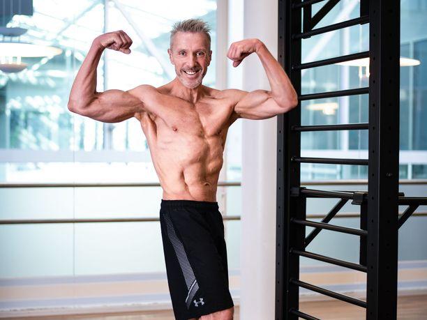Esa Mäkelä treenasi itsensä huippukuntoon 16 viikossa.