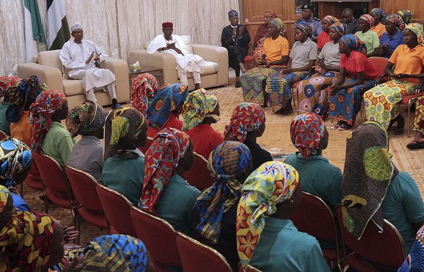 Nigerian hallitus onnistui neuvottelemaan 82 Chibokissa kidnapatun tytön vapautuksen aiemmin tänä vuonna.