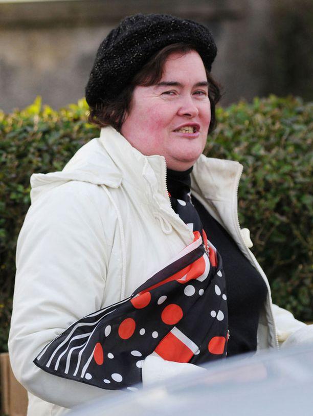 Susan Boylen henkinen terveys järkkyy.