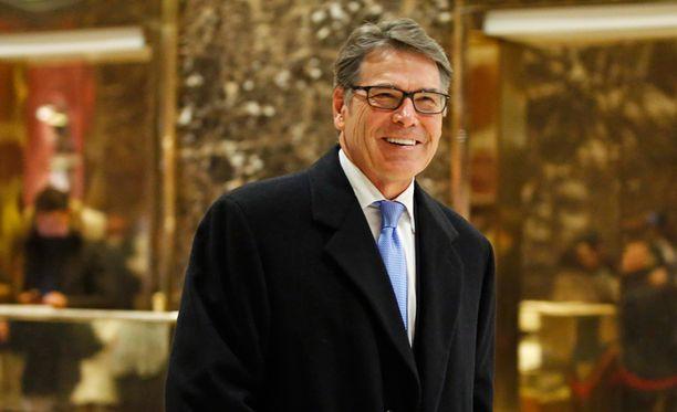 Texasin entinen kuvernööri Rick Perry on uusi energiaministeri.