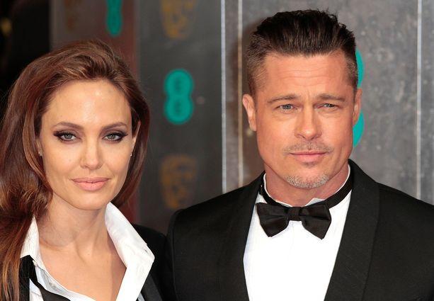 Angelina Jolie ja Brad Pitt olivat yksi Hollywoodin ihailluimmista aviopareista.