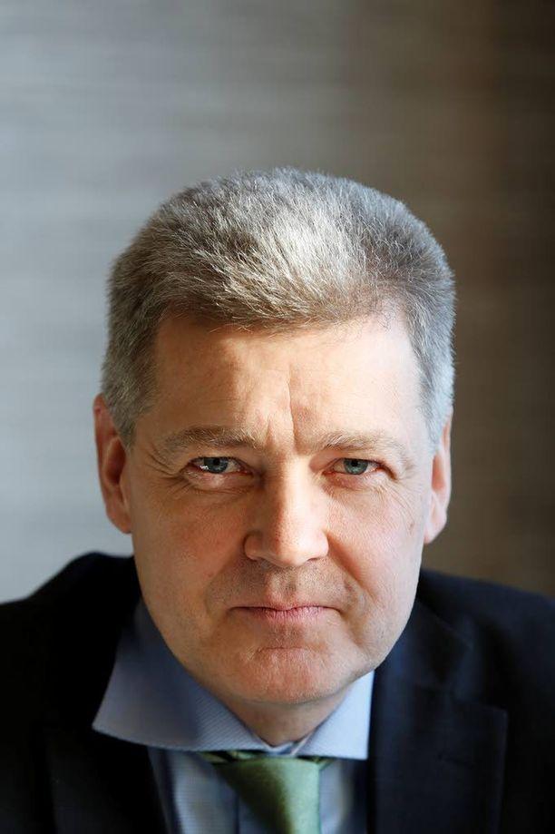 Ylen toimitusjohtaja Lauri Kivinen.