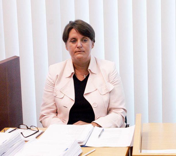 UUSI SYYTTÄJÄ. Heli Haapalehto oli aiemmin toiminut syyttäjänä muun muassa Bodominjärven kolmoismurhajutussa.