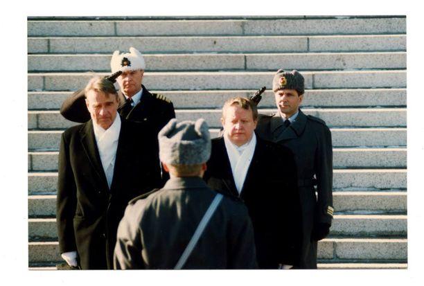 Martti Ahtisaari valittiin tasavallan presidentiksi Mauno Koiviston jälkeen vuonna 1994.