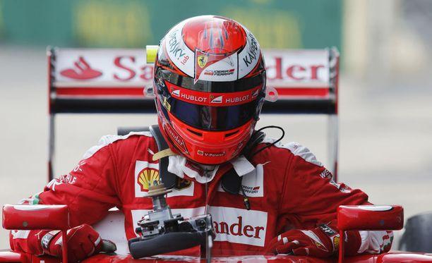 Kimi Räikkönen sijoittui Bakussa neljänneksi.