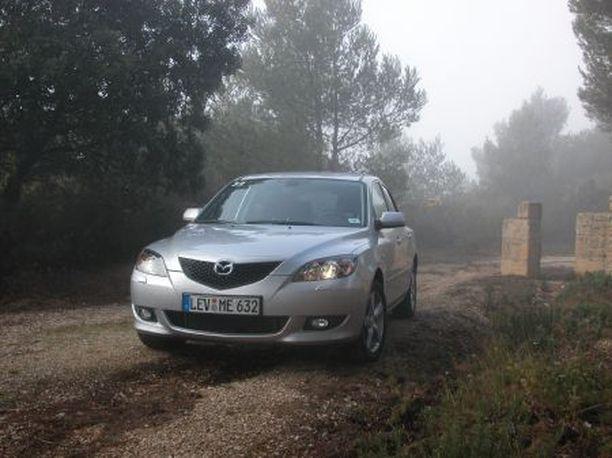 PARAS UUDENKARHEA Vain 1,3 prosenttia ensi kertaa katsastuksesta käyneistä Mazda3:sta hylättiin vuonna 2008.