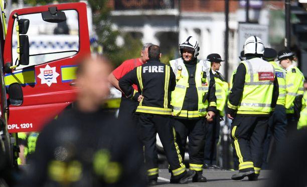 Räjähdyksessä Lontoon metrossa loukkaantui 29 ihmistä.