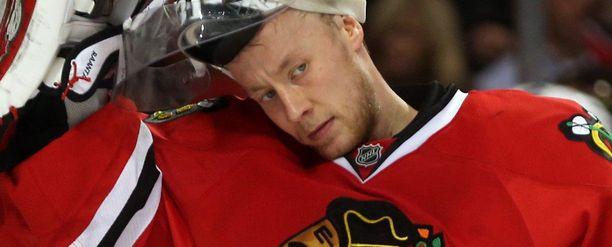 Antti Raanta ei nauttinut olostaan Chicagossa viime kaudella.
