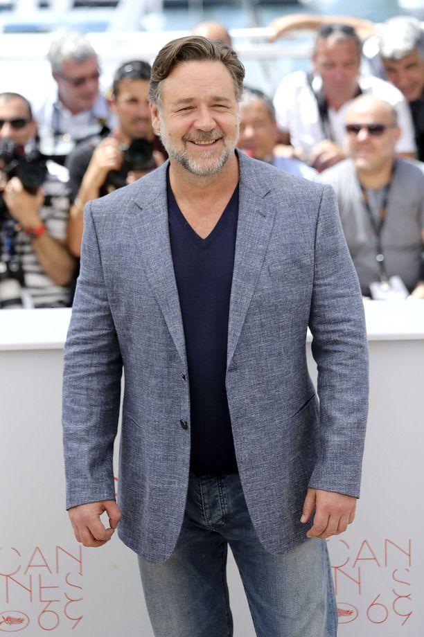Russell Crowe vuonna 2016 Cannesin elokuvajuhlilla.