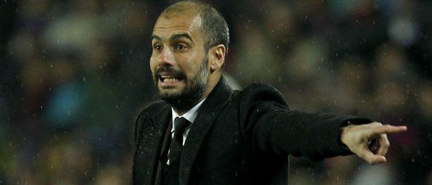 Pep Guardiola oli virittänyt joukkueensa mahtikuntoon.