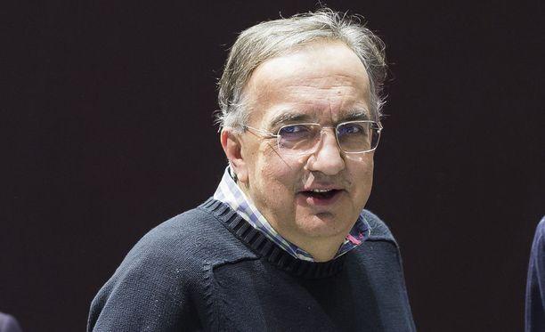 Sergio Marchionne menehtyi tänään Zürichissä.