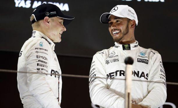 Valtteri Bottaksen pitää parantaa rutkasti kaudelle 2019 pysyäkseen Lewis Hamiltonin vauhdissa.