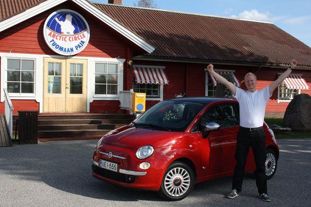 Antti kävi Fiatinsa kanssa road tripillä Suomen Lapissa.