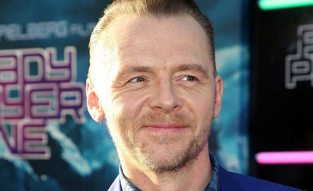 Simon Pegg tunnetaan esimerkiksi elokuvista Hot Fuzz ja Kuolleiden valtakunta.
