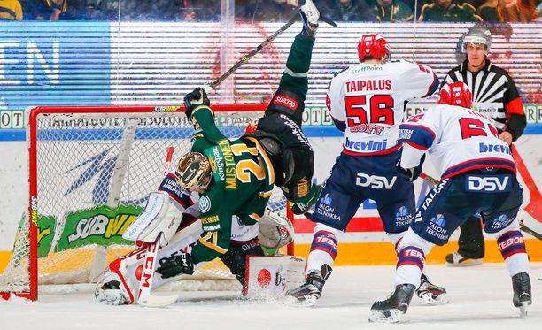 Aleksi Mustonen ajoi lauantaina voimalla HIFK:n maalille. Tänään on lupa odottaa samanlaisia otteita.