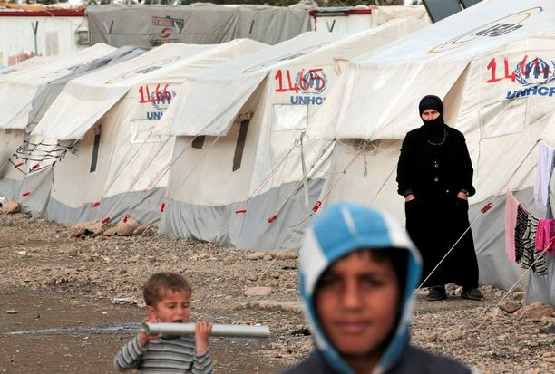Turkin pakolaismäärät lähestyvät kolmea miljoonaa. Valtaosa heistä on Syyriasta. Kuva on Islahiyen leiriltä Kaakkois-Turkista.